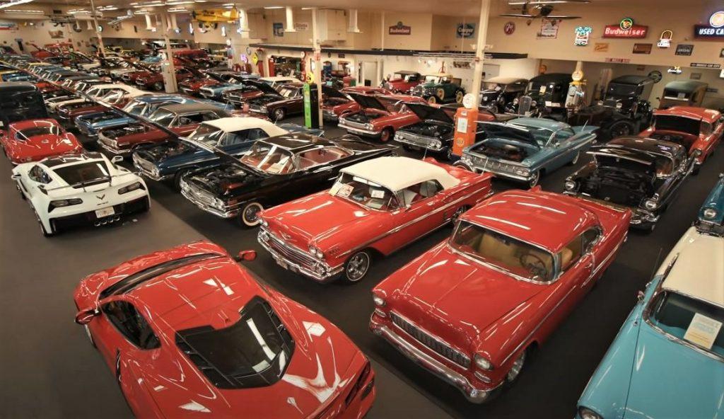 Muscle Car City Museum - display floor