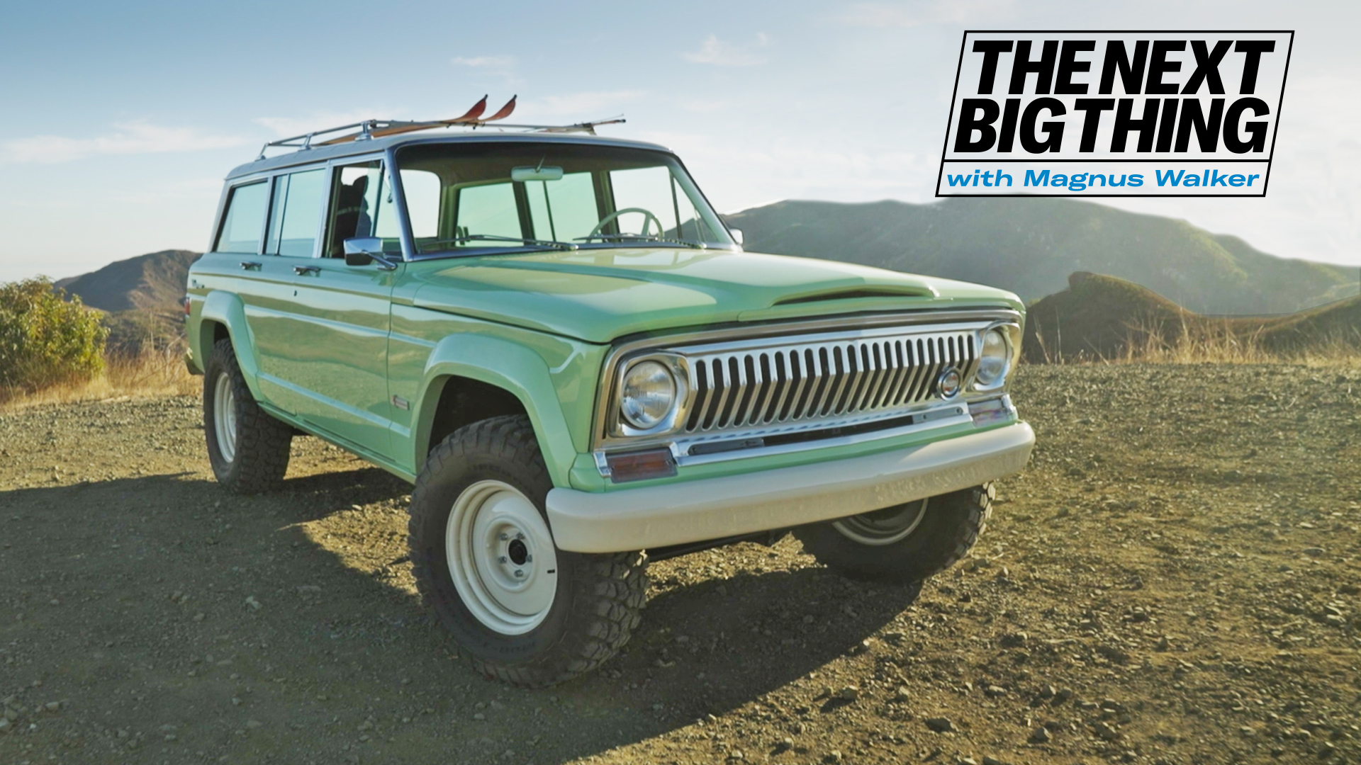 The next big thing with Magnus Walker Jeep Grand Wagoneer