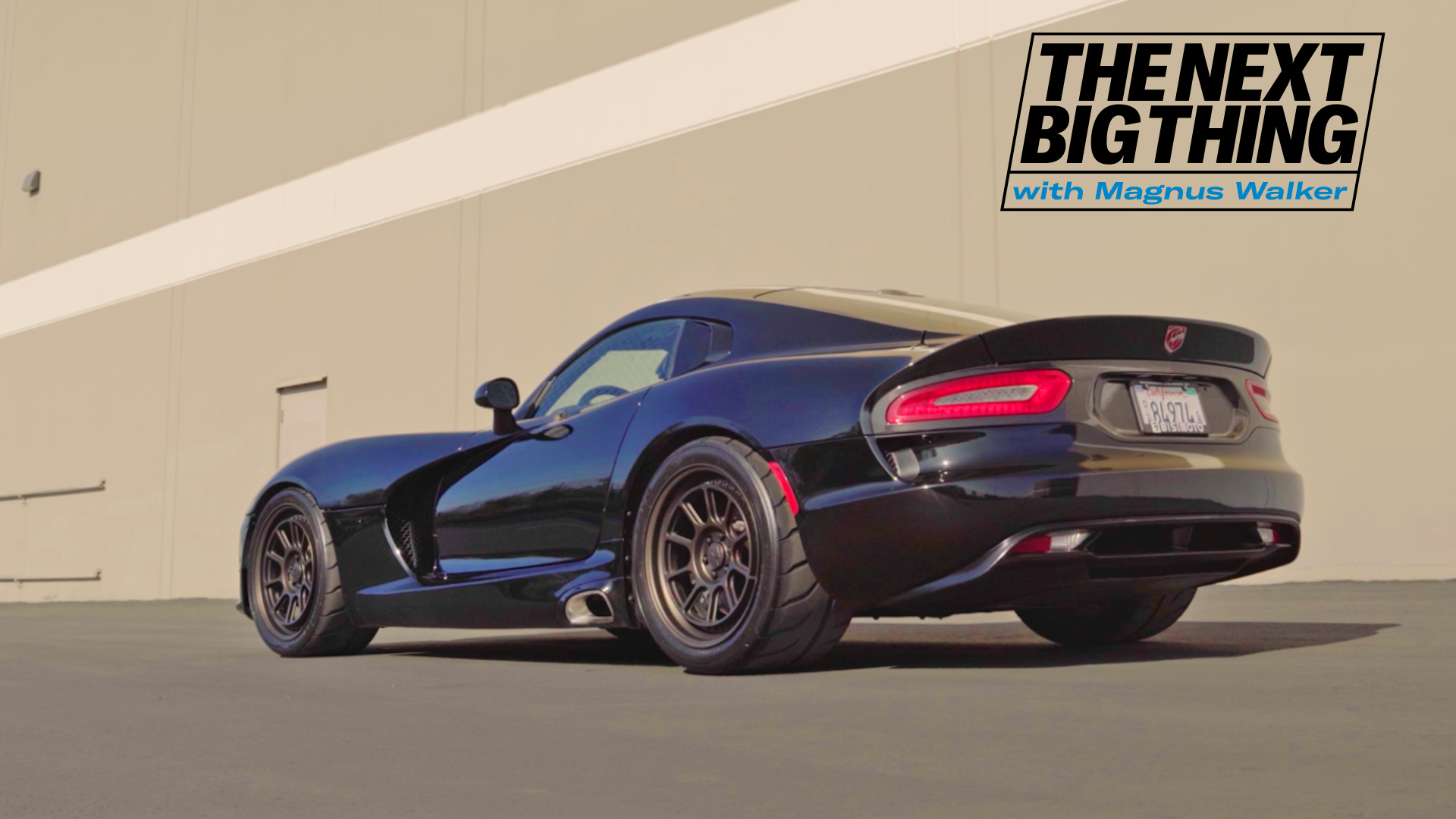 The Next Big Thing with Magnus Walker Dodge Viper