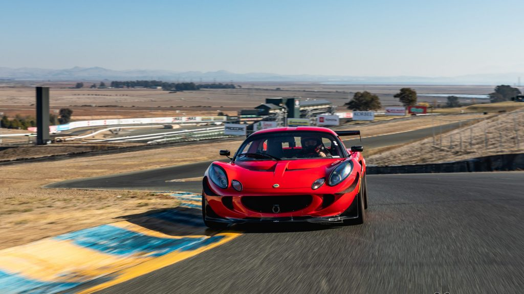 lotus track action