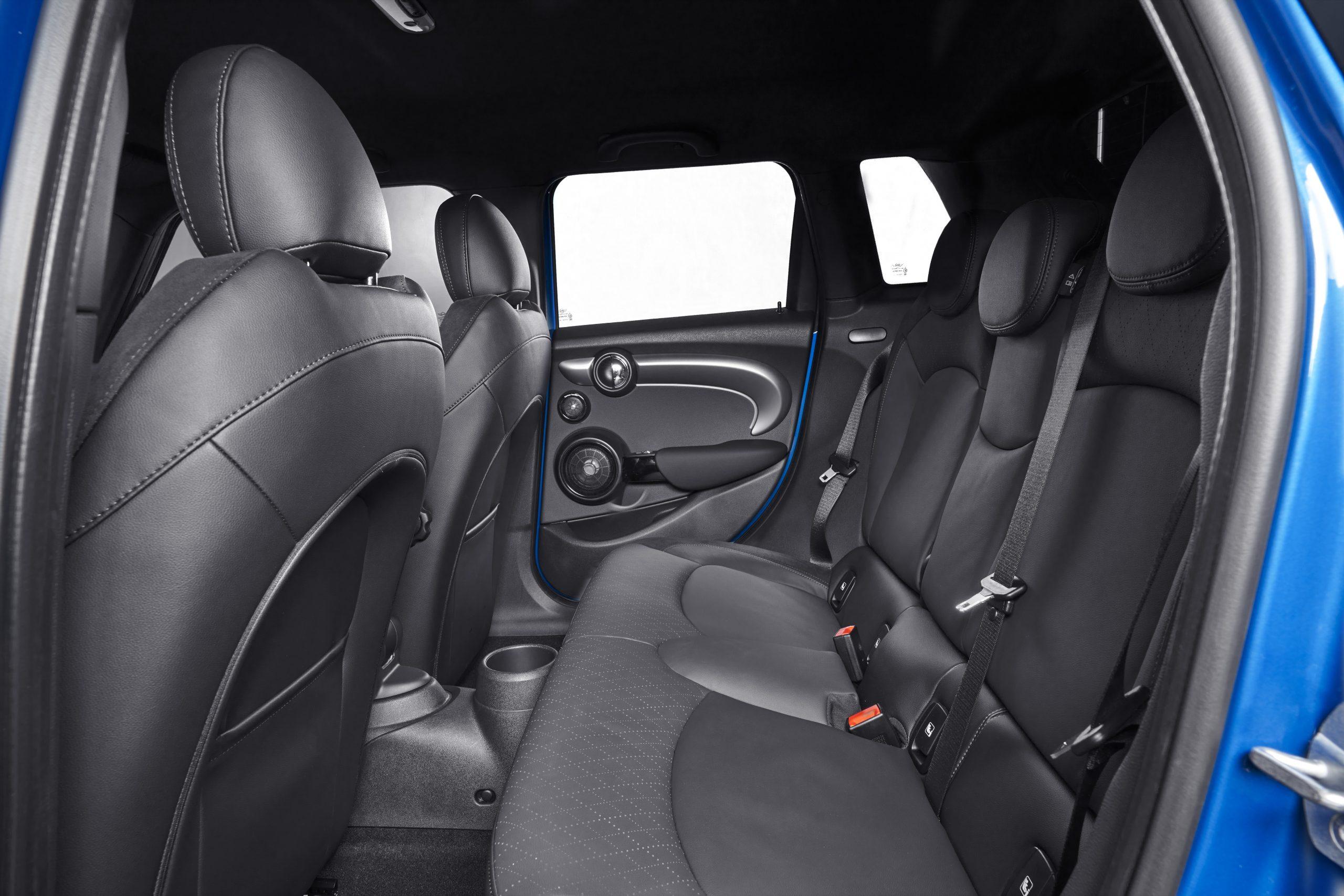 2022 Mini Cooper rear seats four door interior