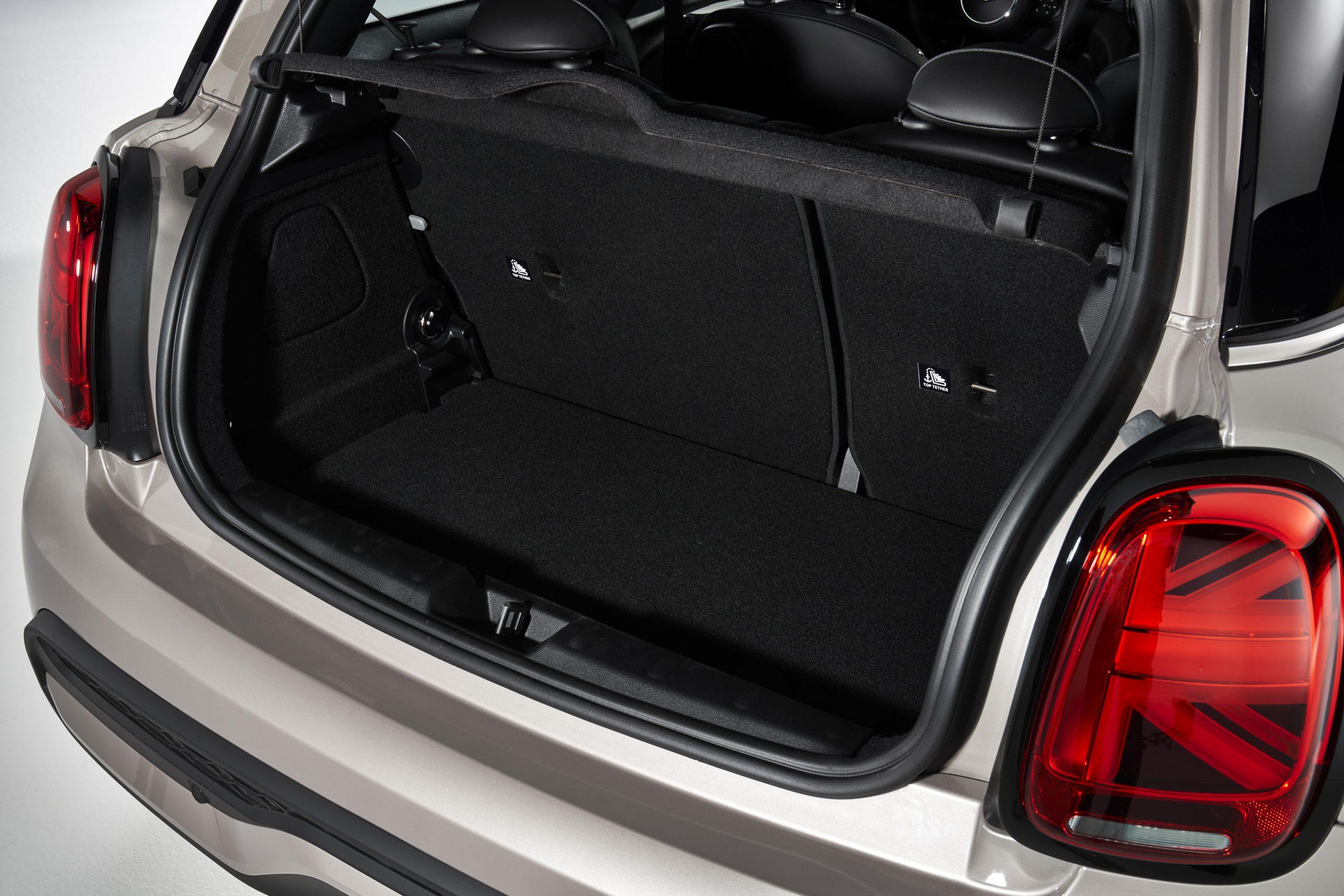 2022 Mini Cooper Rooftop Grey trunk