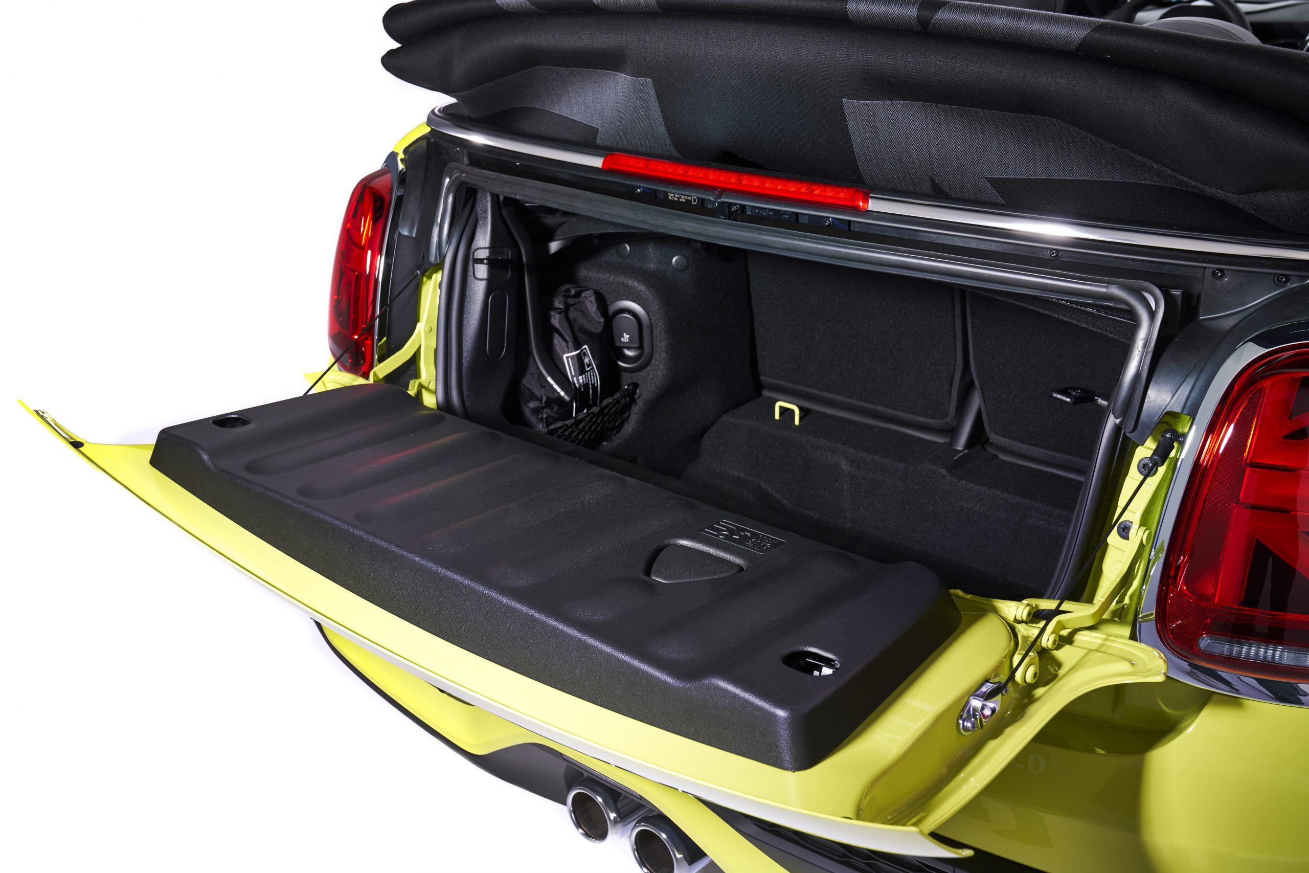 2022 Mini Cooper convertible trunk