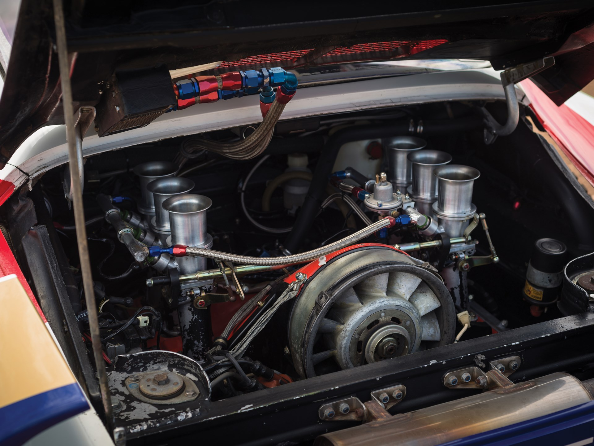 1985 Porsche 959 Paris-Dakar engine