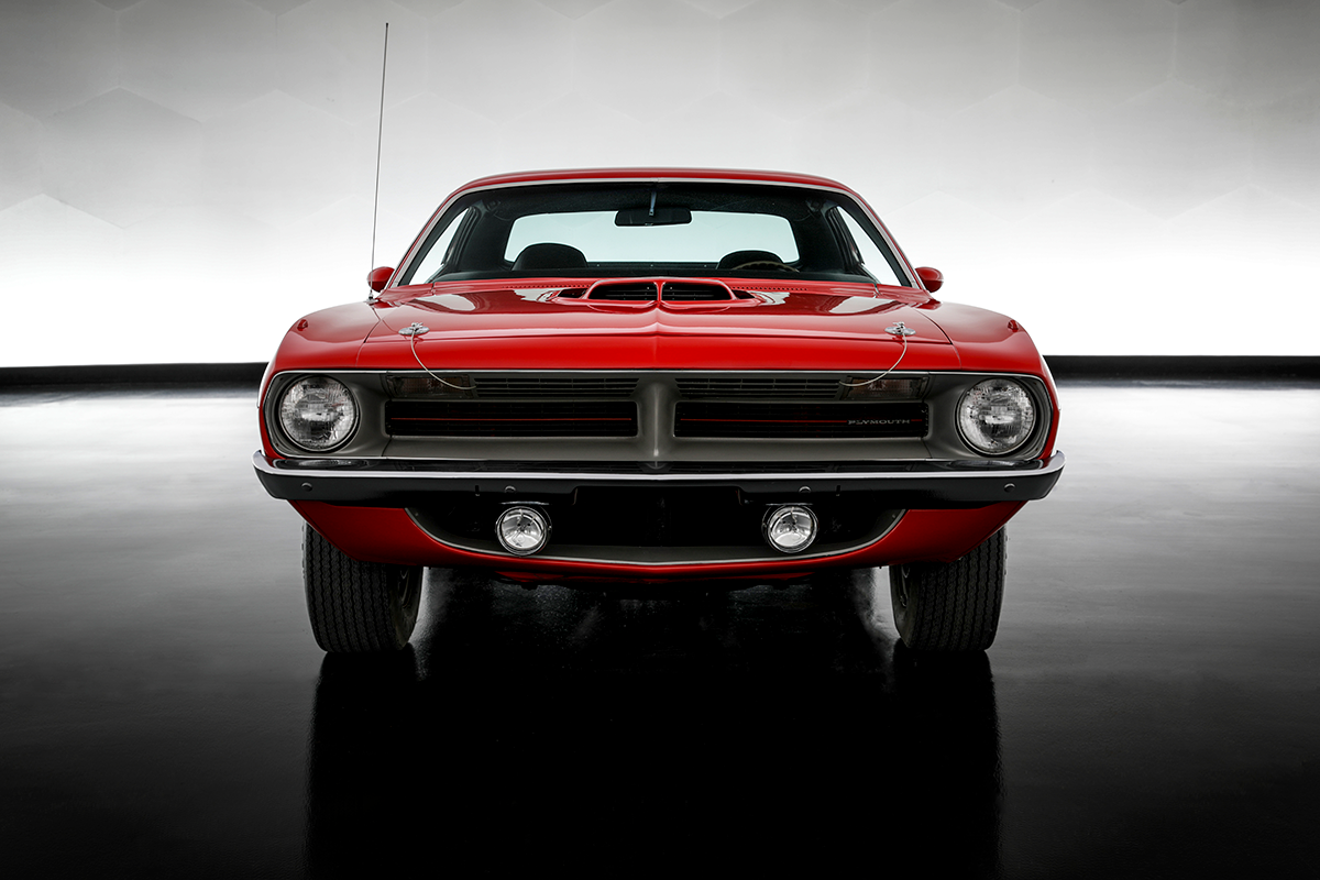 Plymouth Barracuda front photograph
