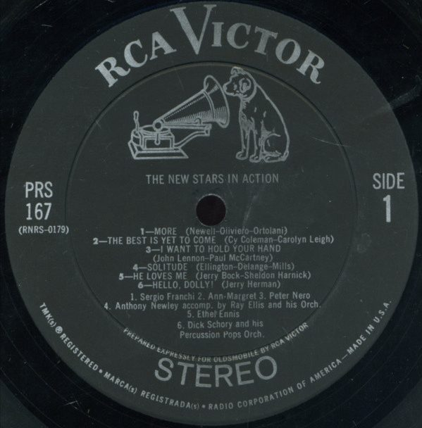 RCA Victor Disk 1