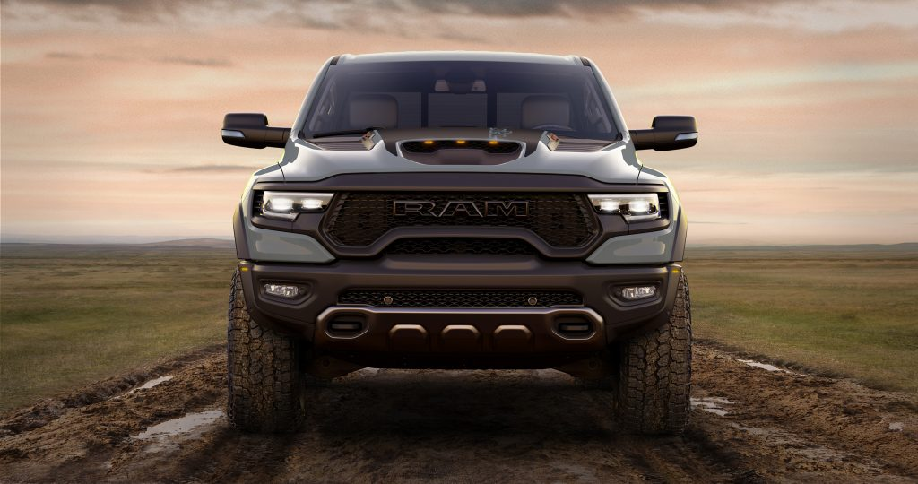 2021 Ram 1500 TRX Launch Edition front view