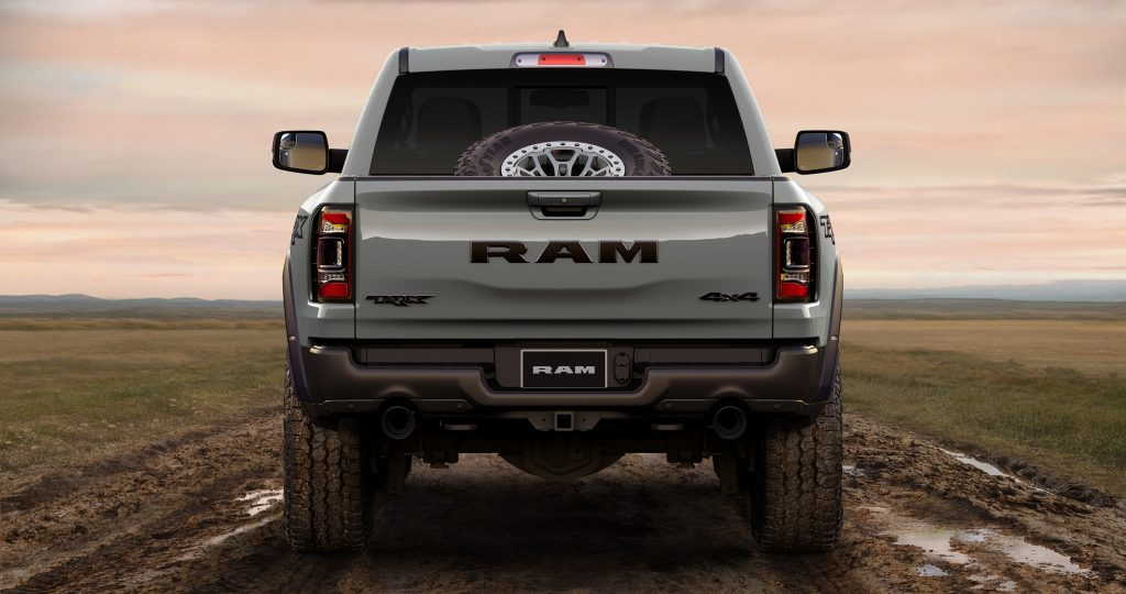 2021 Ram 1500 TRX Launch Edition rear view
