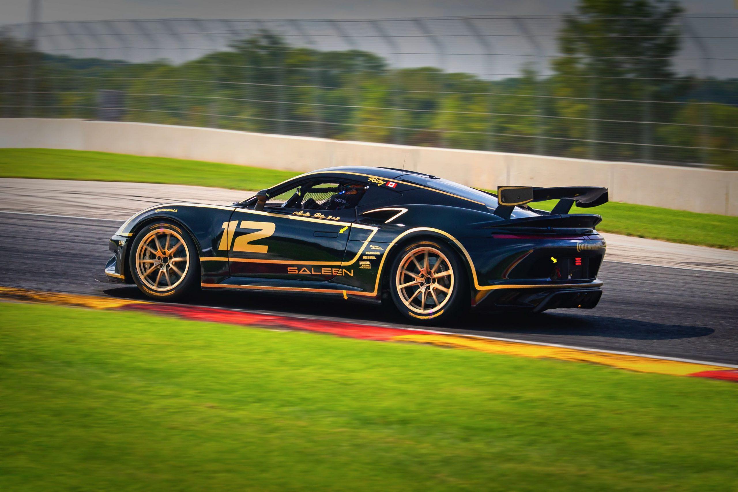 Racing with Autism Austin Riley saleen