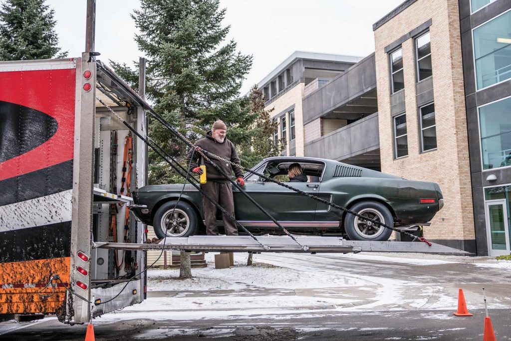Reliable Carriers Transports Bullitt Mustang Hagerty HQ