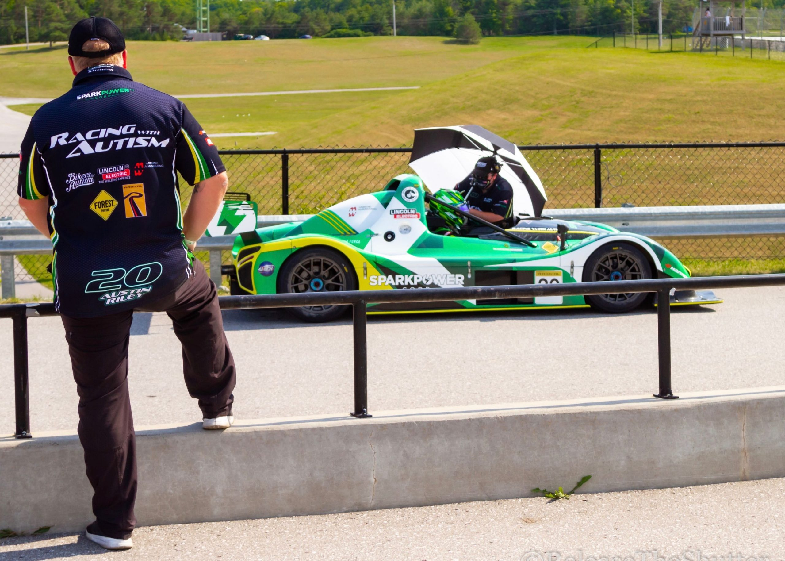 Racing with Autism Austin Riley radical