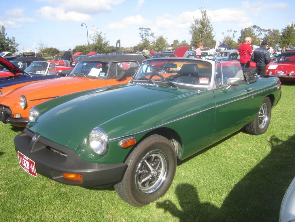 Rob Siegel - Two years that changed cars forever - 1976_MG_MGB_Mk_III_Roadster
