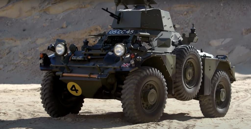 jay leno military 1959 ferret armoured scout car mk 2