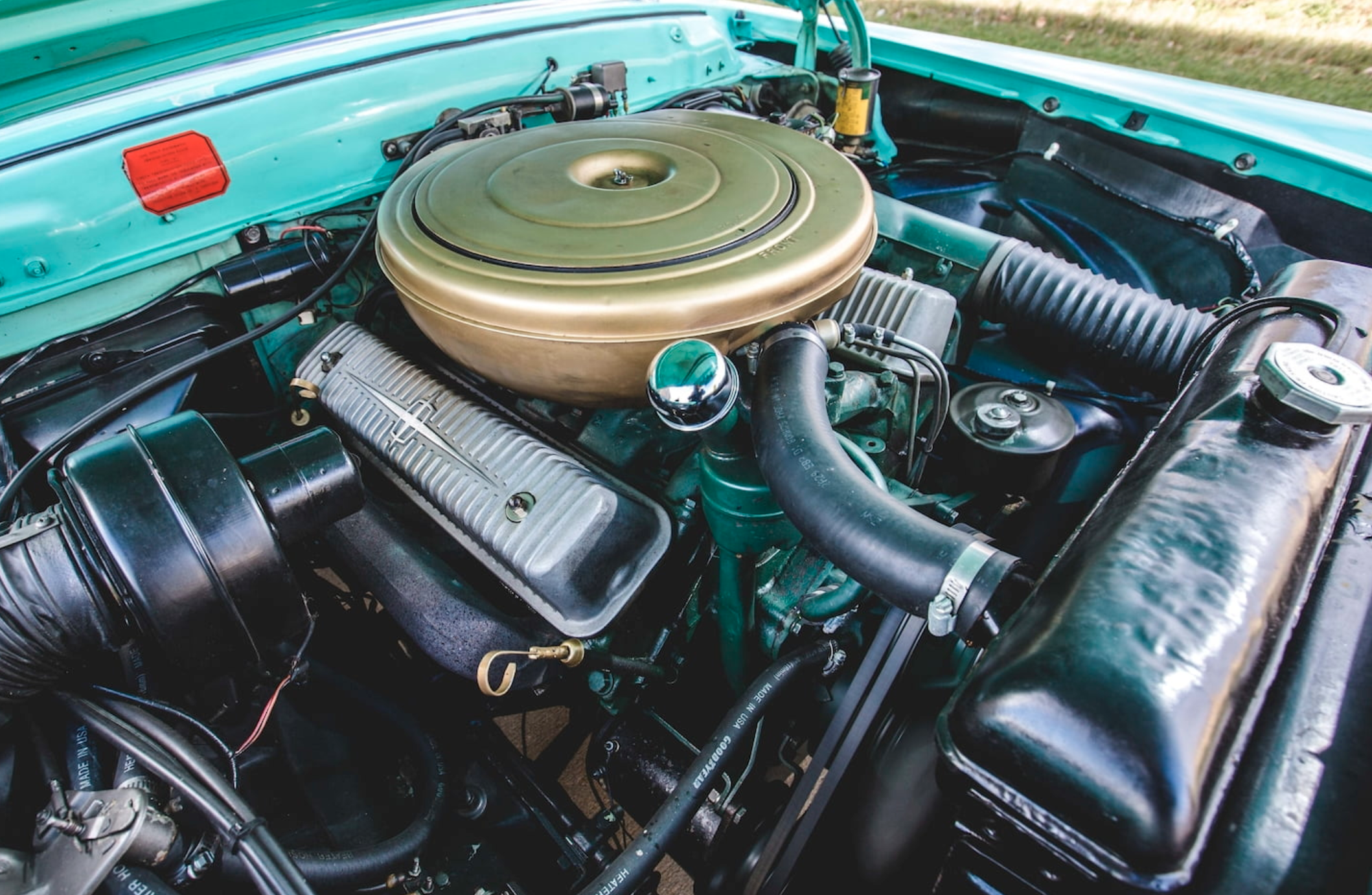 1957 Lincoln Engine Bay Y-block V-8
