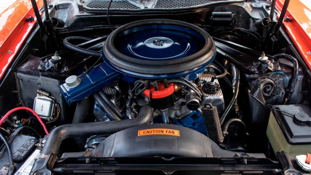 Mustang Boss 351 Engine