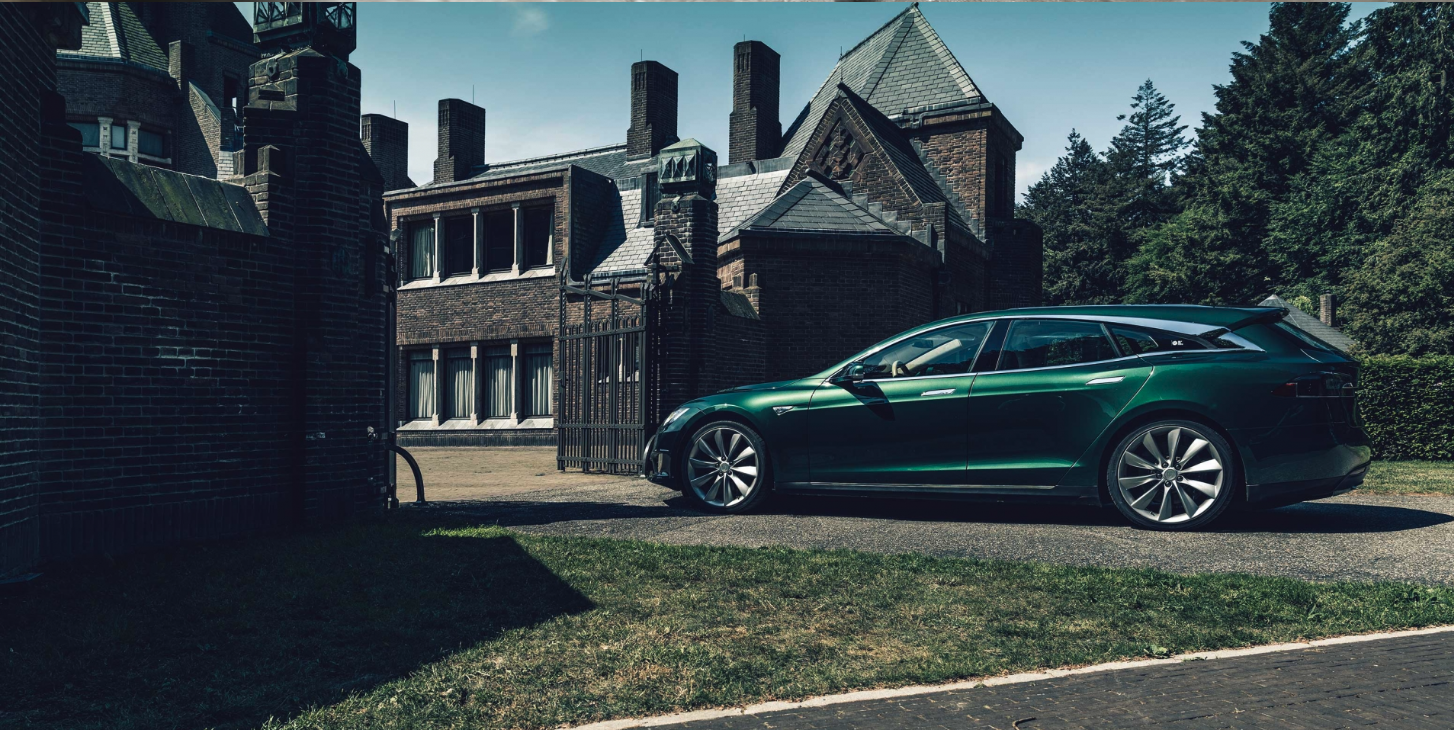 Niels van Roij Design Tesla Shooting Brake