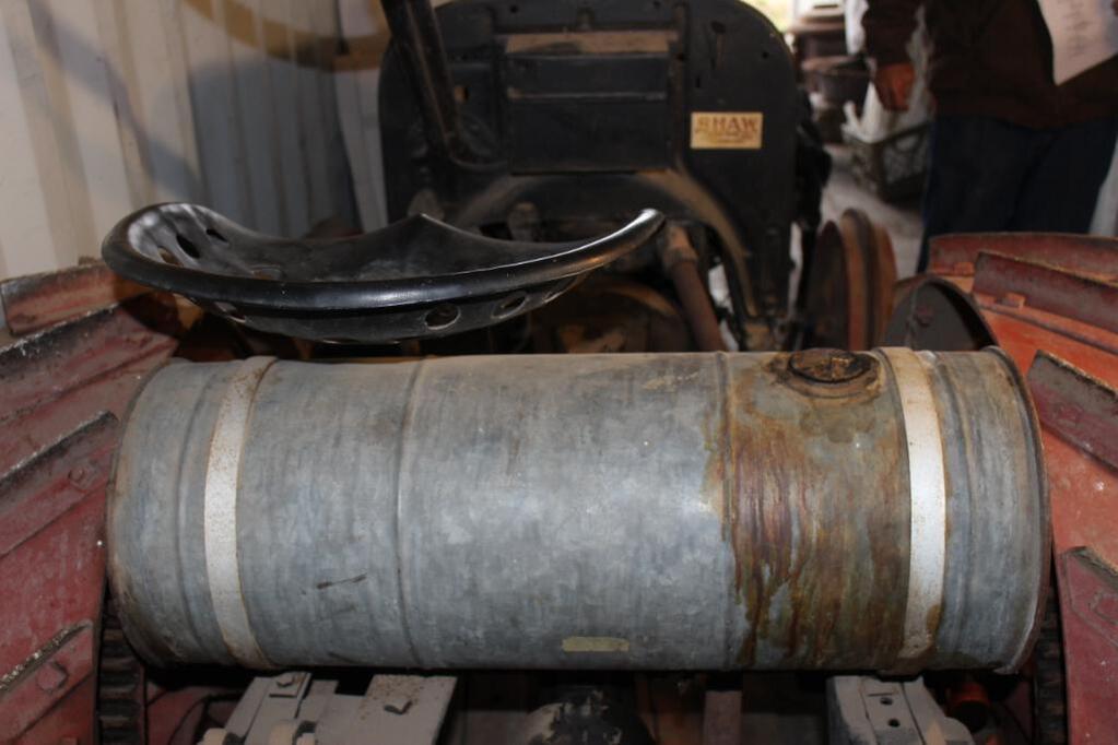 Shaw Model T Conversion Tractor rear tank