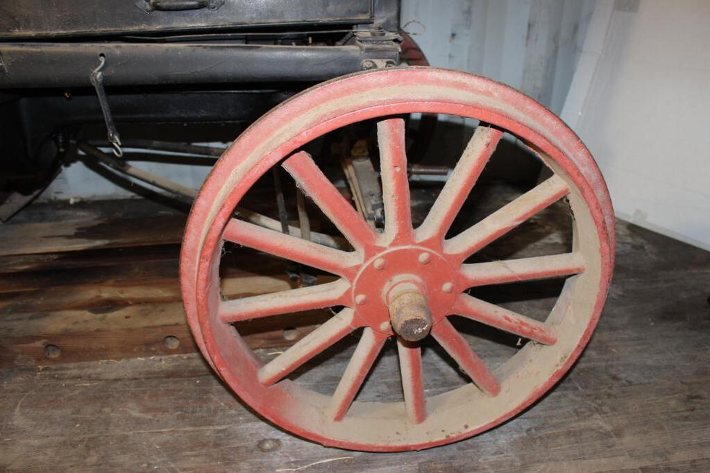 Shaw Model T Conversion Tractor front wheel
