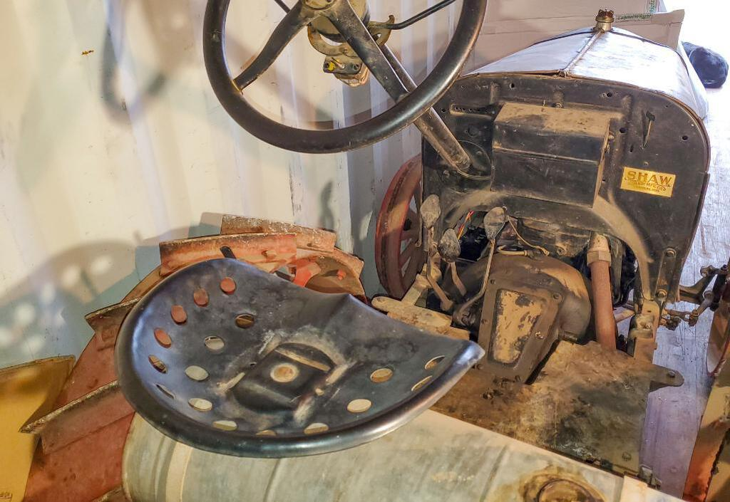 Shaw Model T Conversion Tractor seat