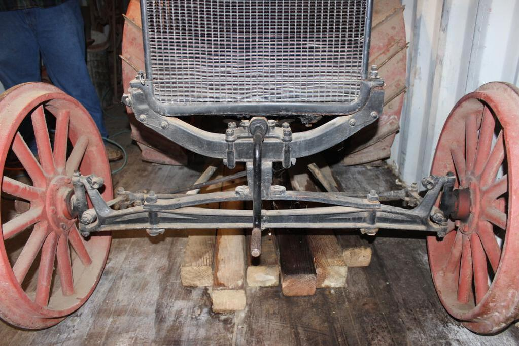 Shaw Model T Conversion Tractor front