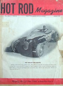 Siegel - My surprising infatuation with a track T roadster - hot rod magazine first issue