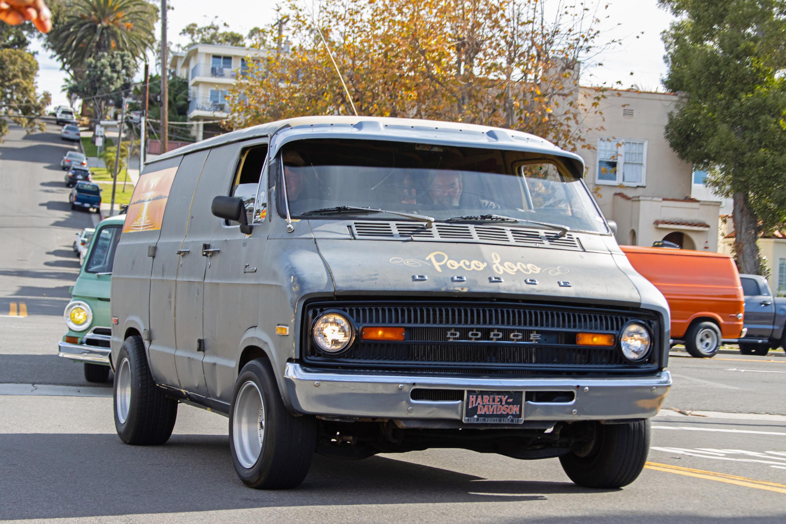 So-Cal Slow Ride Van Run dodge poco loco