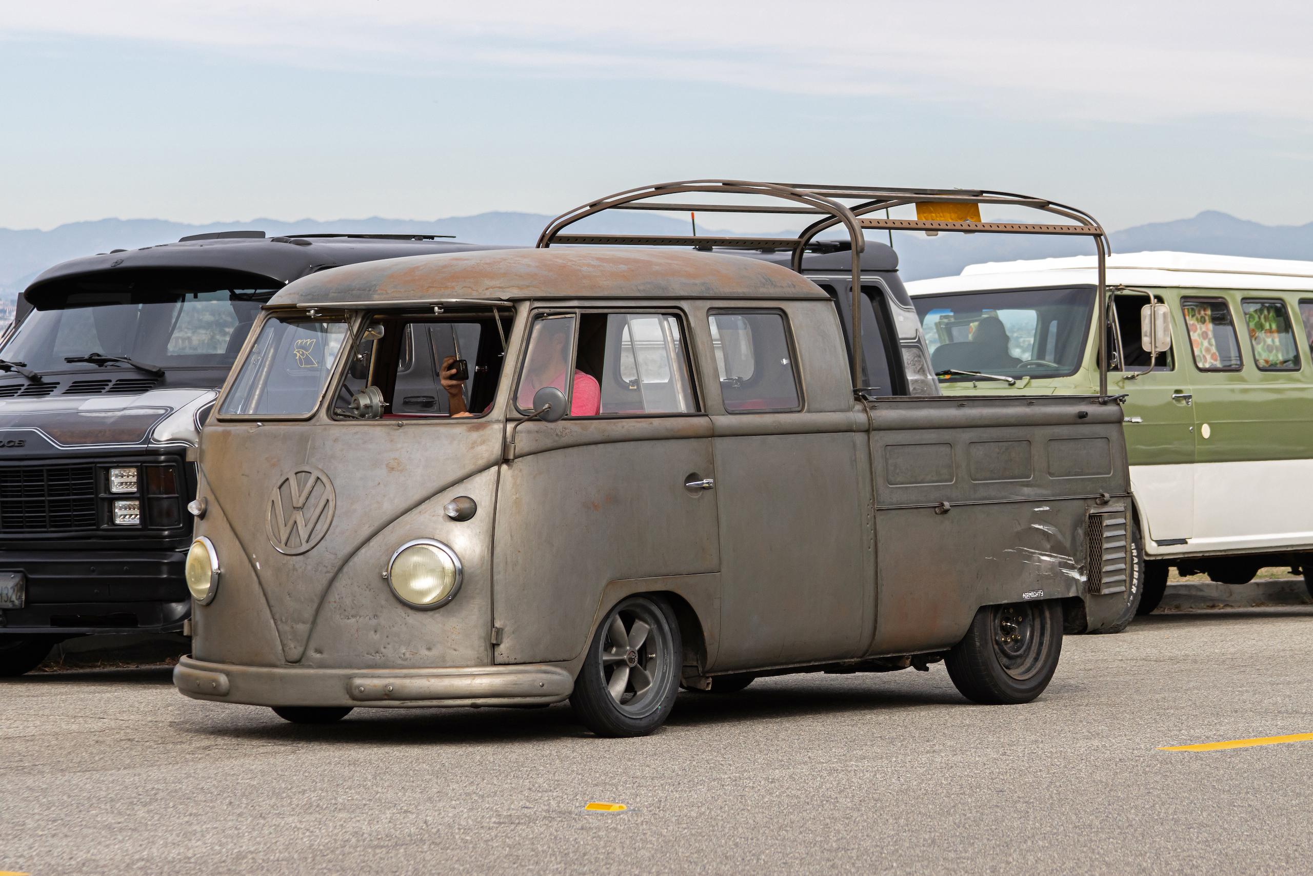 So-Cal Slow Ride Van Run vw sheetmetal