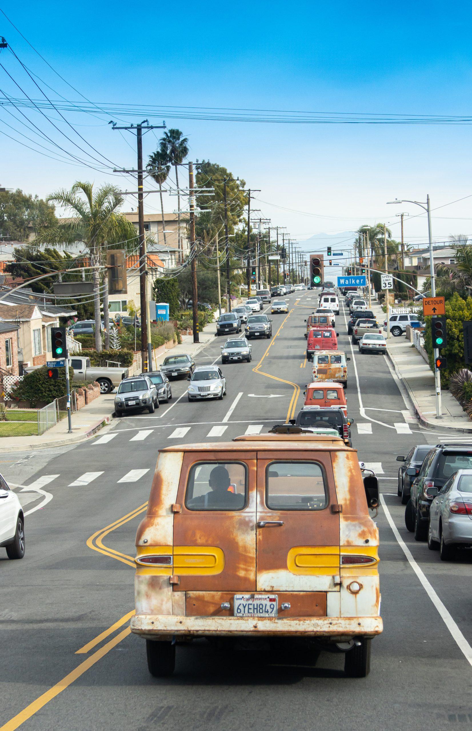 So-Cal Slow Ride Van Run rear