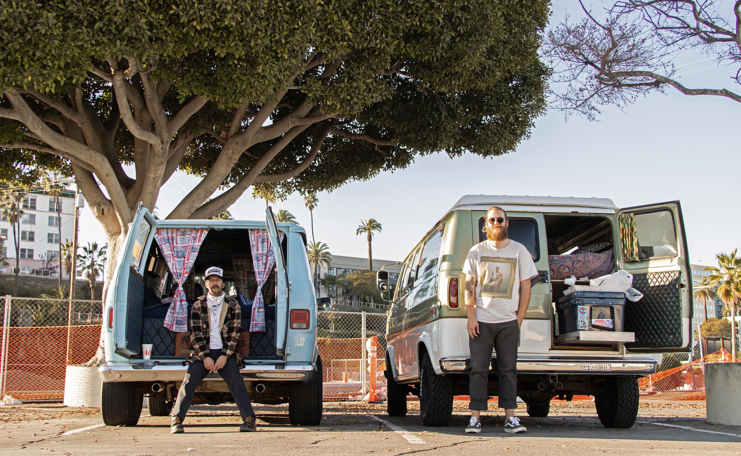 So-Cal Slow Ride Van Run nomads