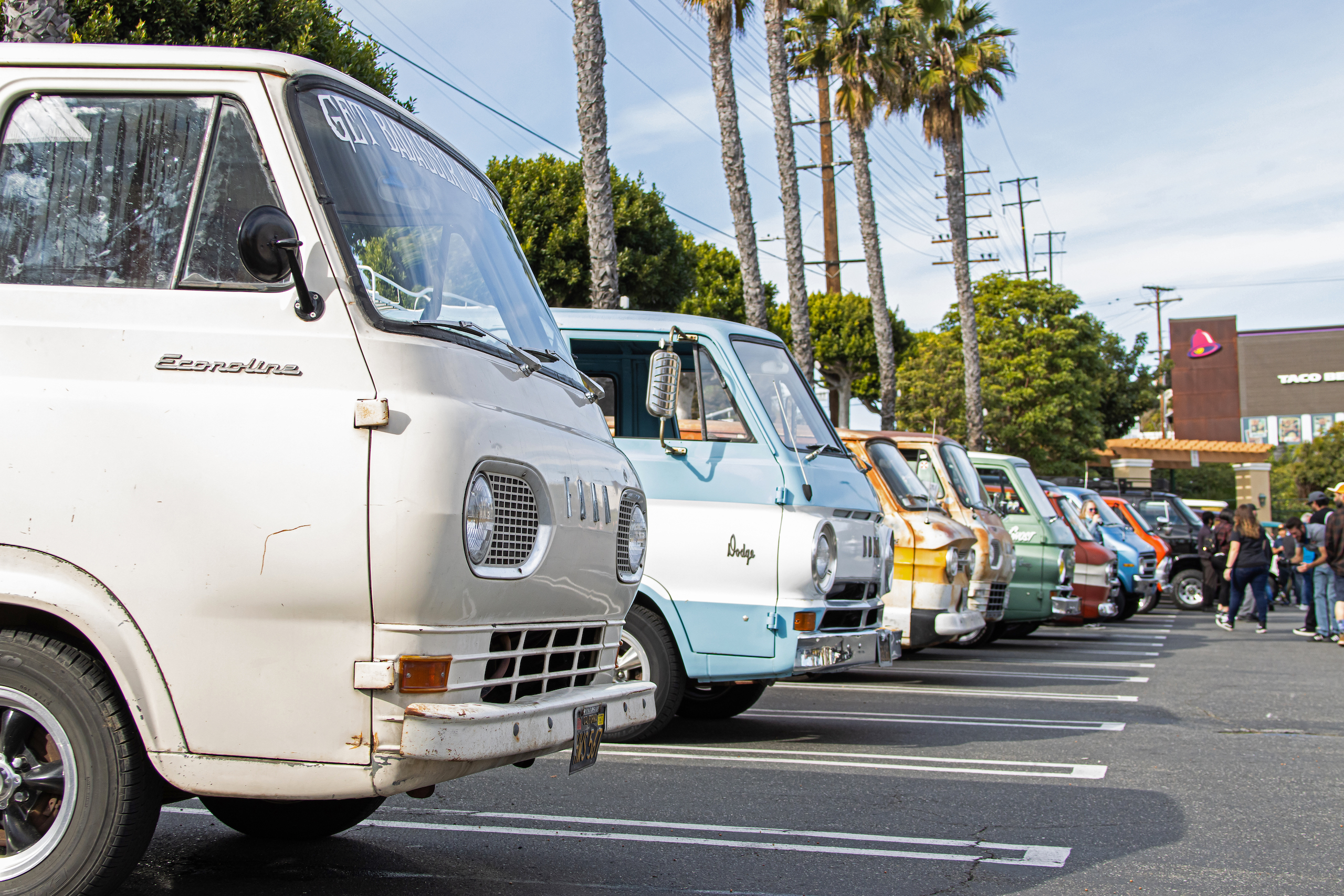 So-Cal Slow Ride Van Run fronts