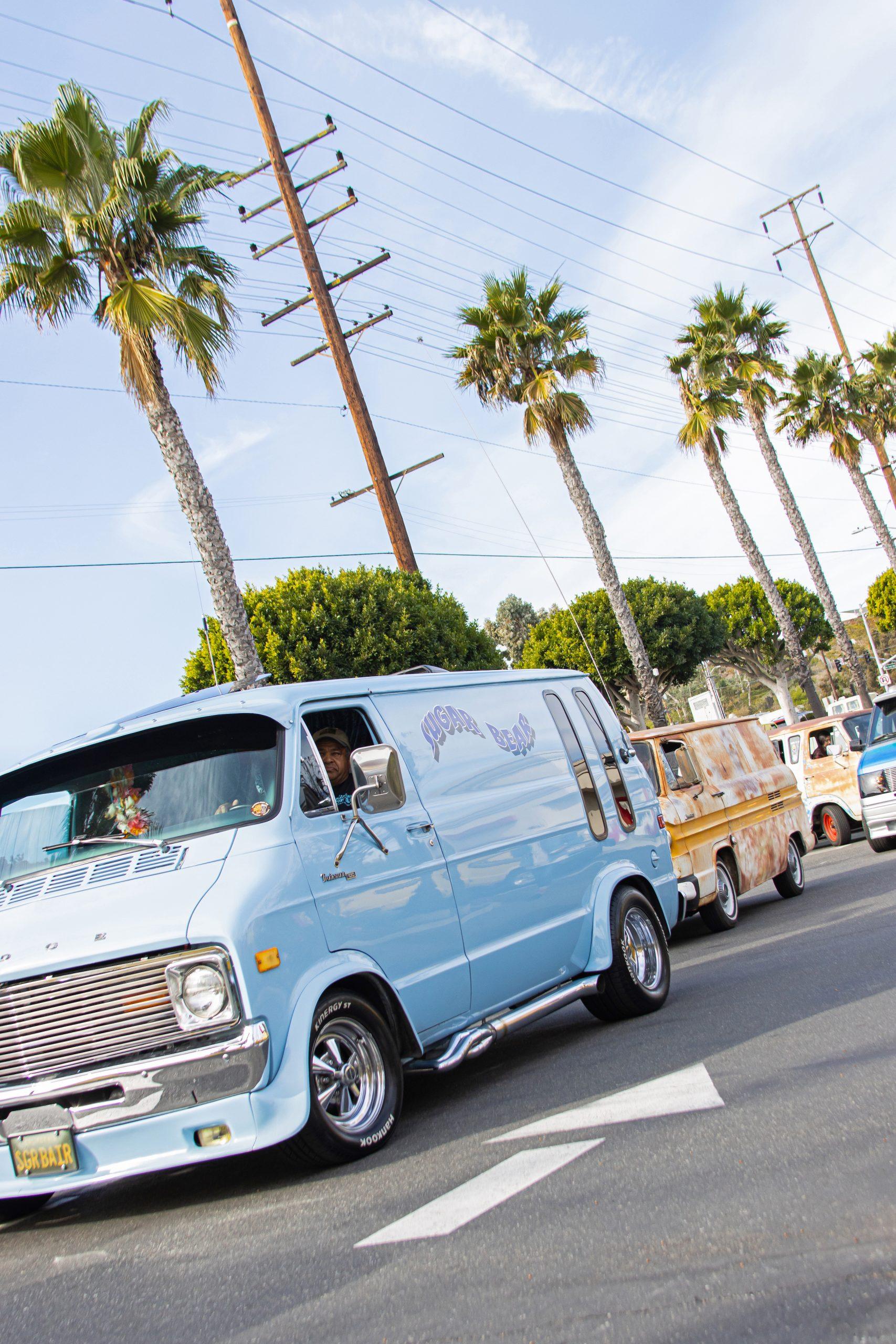 So-Cal Slow Ride Van Run baby blue