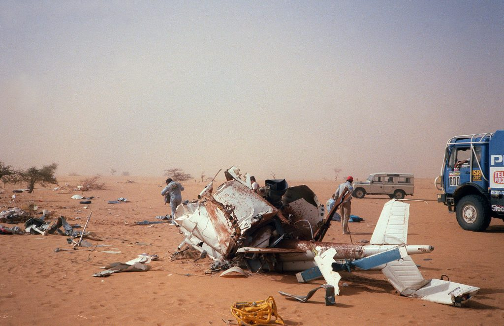Thierry Sabine helicopter crash