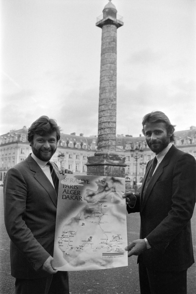 Thierry Sabine and Alain-Dominique Perrin