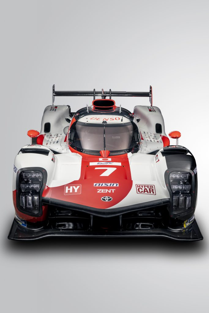 Toyota Gazoo Racing GR010 front