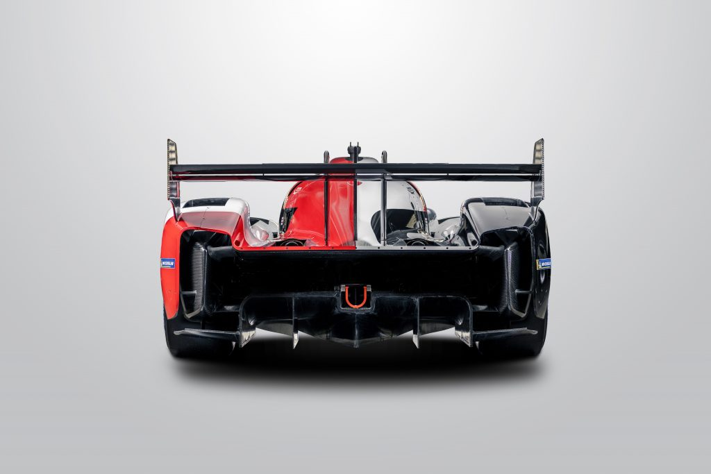 Toyota Gazoo Racing GR010 rear