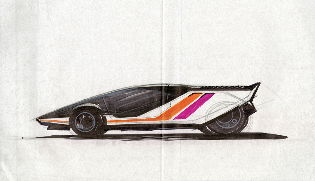 vector concept sketch