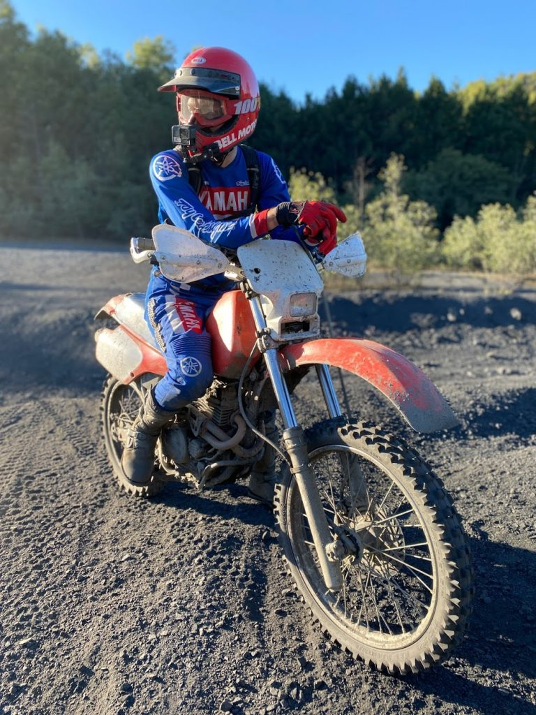 Kyle on Xr250 at FRO
