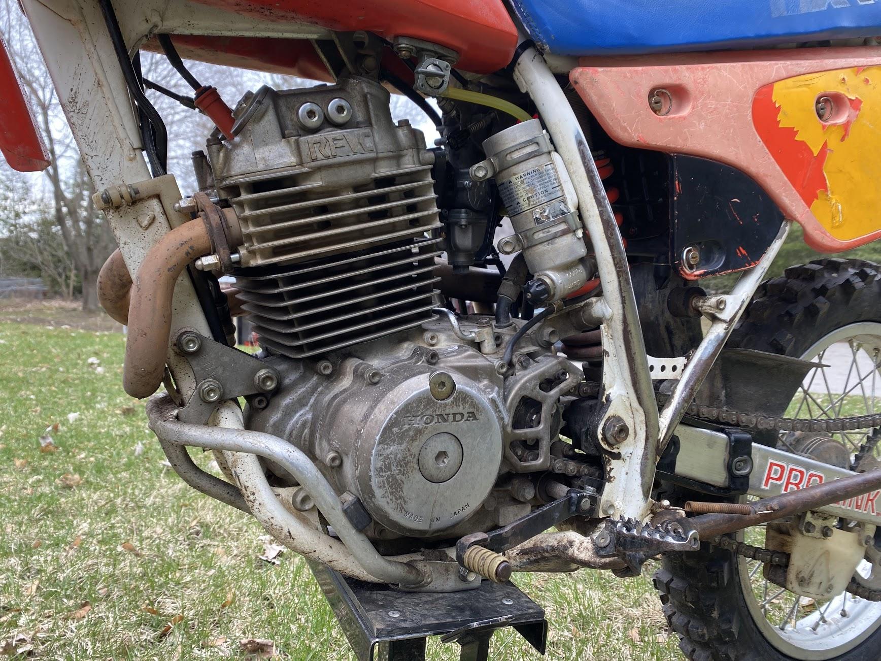 Honda XR250 engine