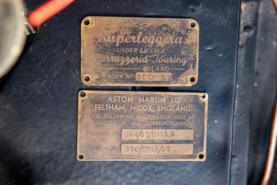 Aston Martin DB4GT project badges