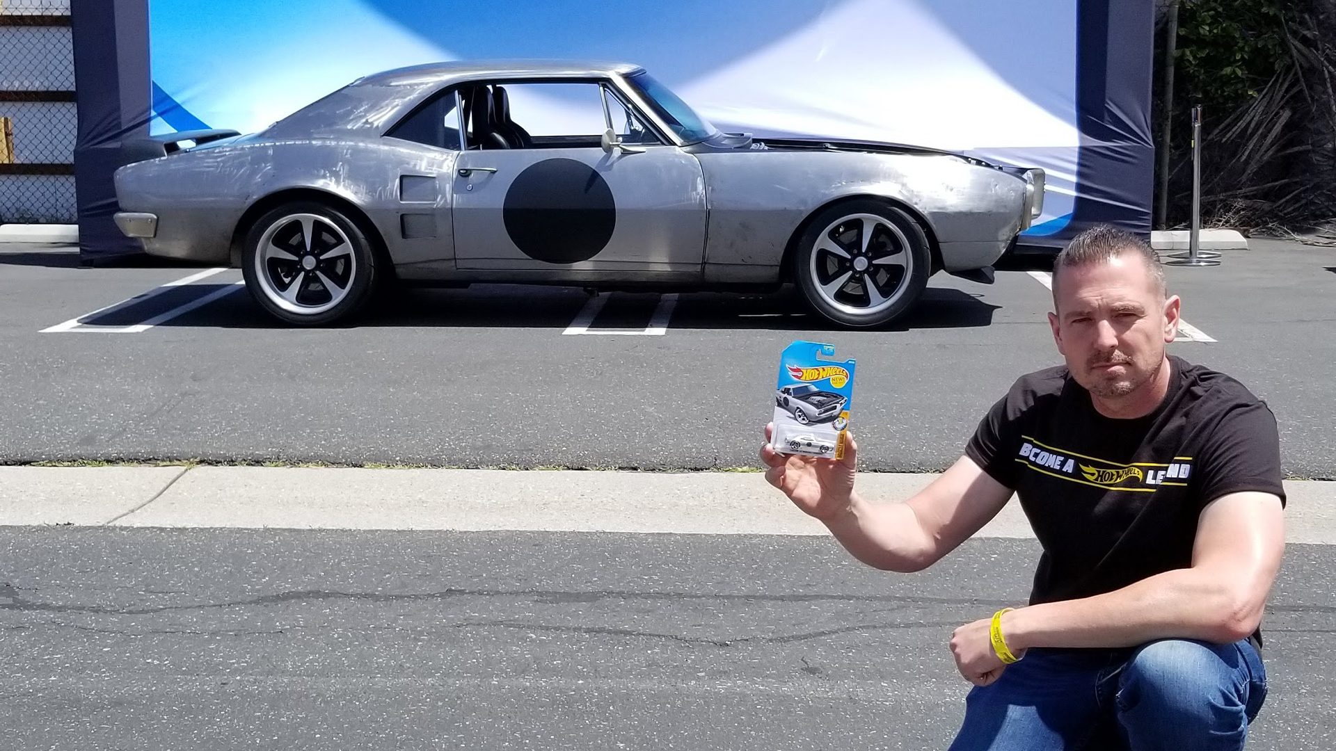 Hot Wheels Designer, Brendon Vetuskey with 1967 Pontiac Firebird