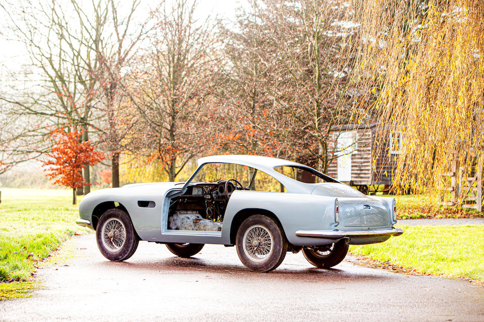 Aston Martin DB4GT project 8