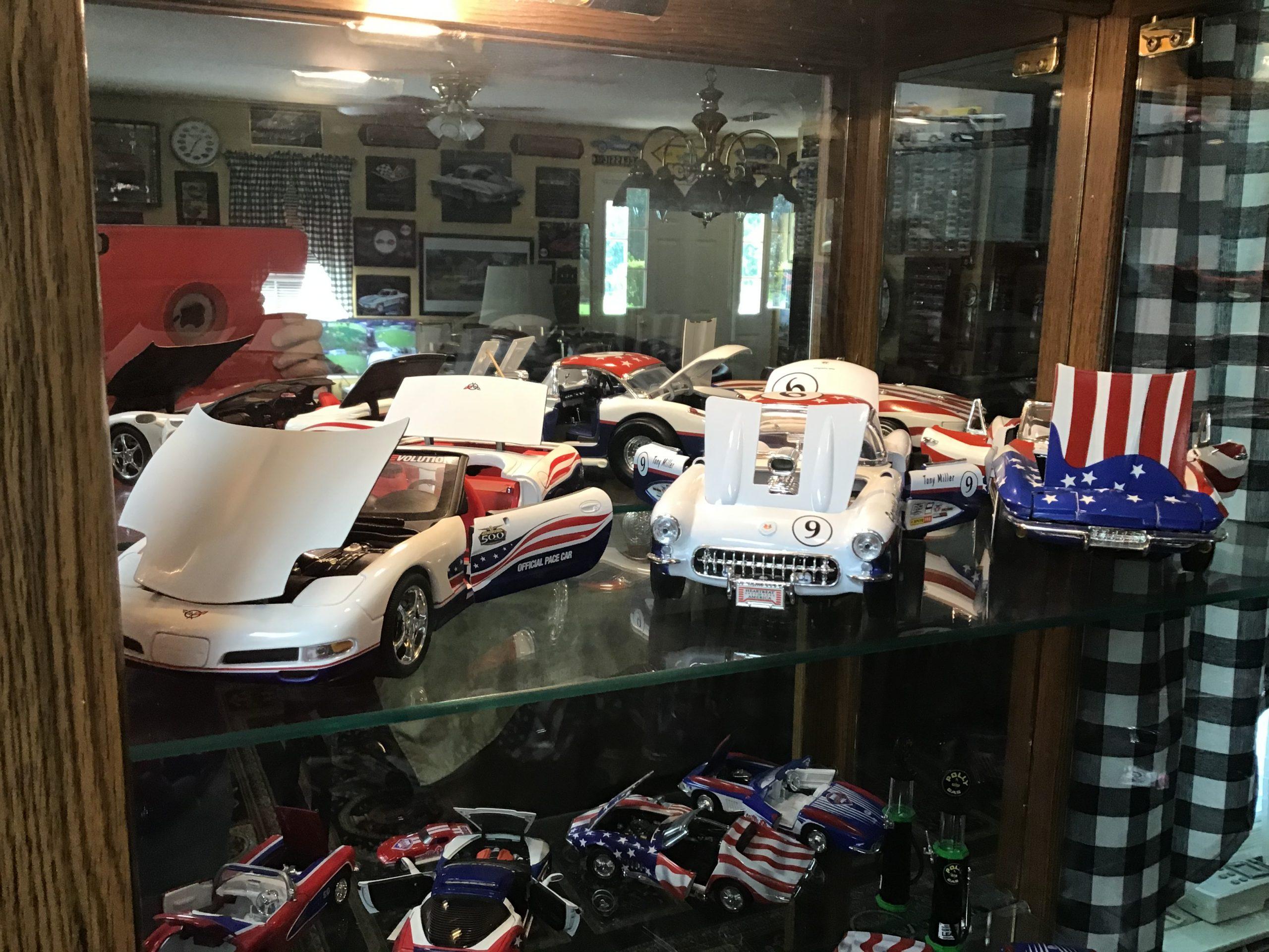 chevrolet corvette house decor diecast models
