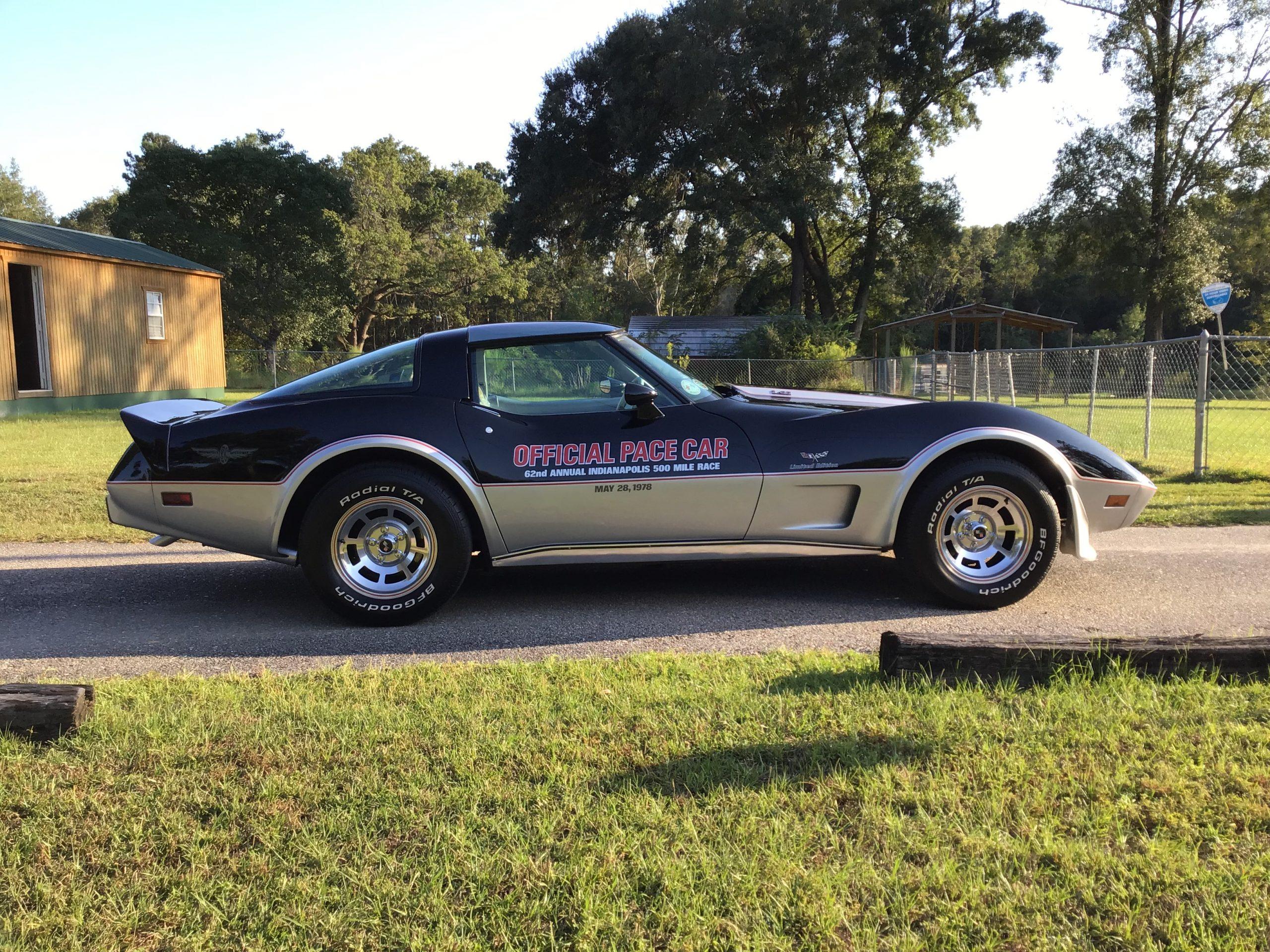 1978 chevrolet corvette c3 pace car