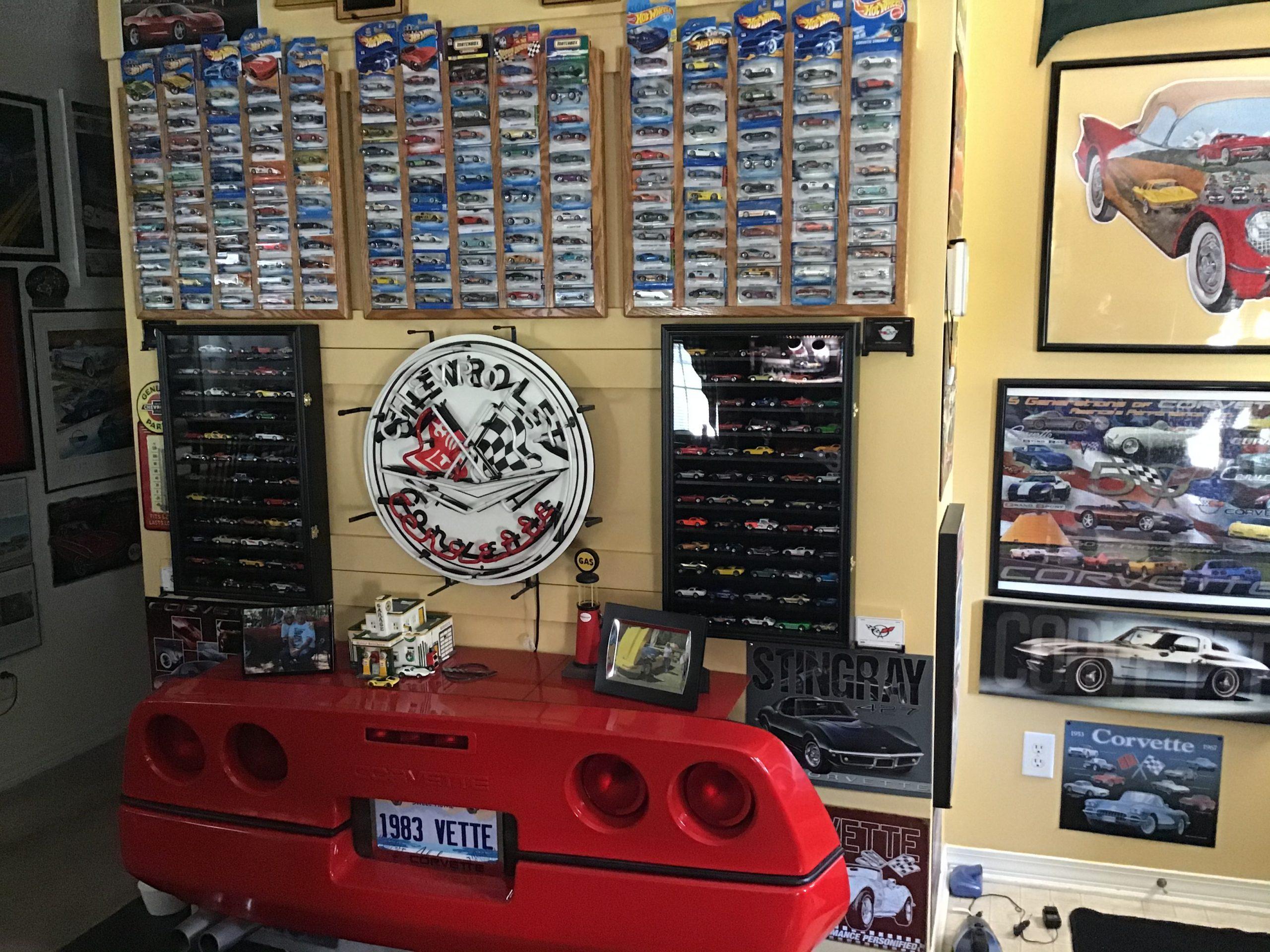 chevrolet corvette house decor