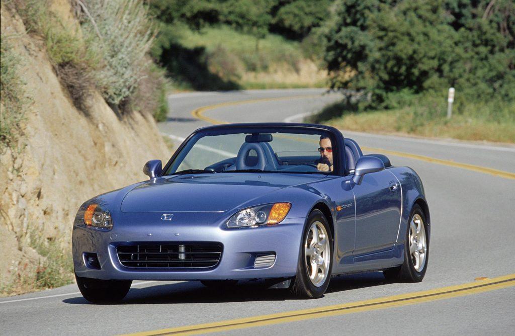 2002 Honda S2000 front three-quarter