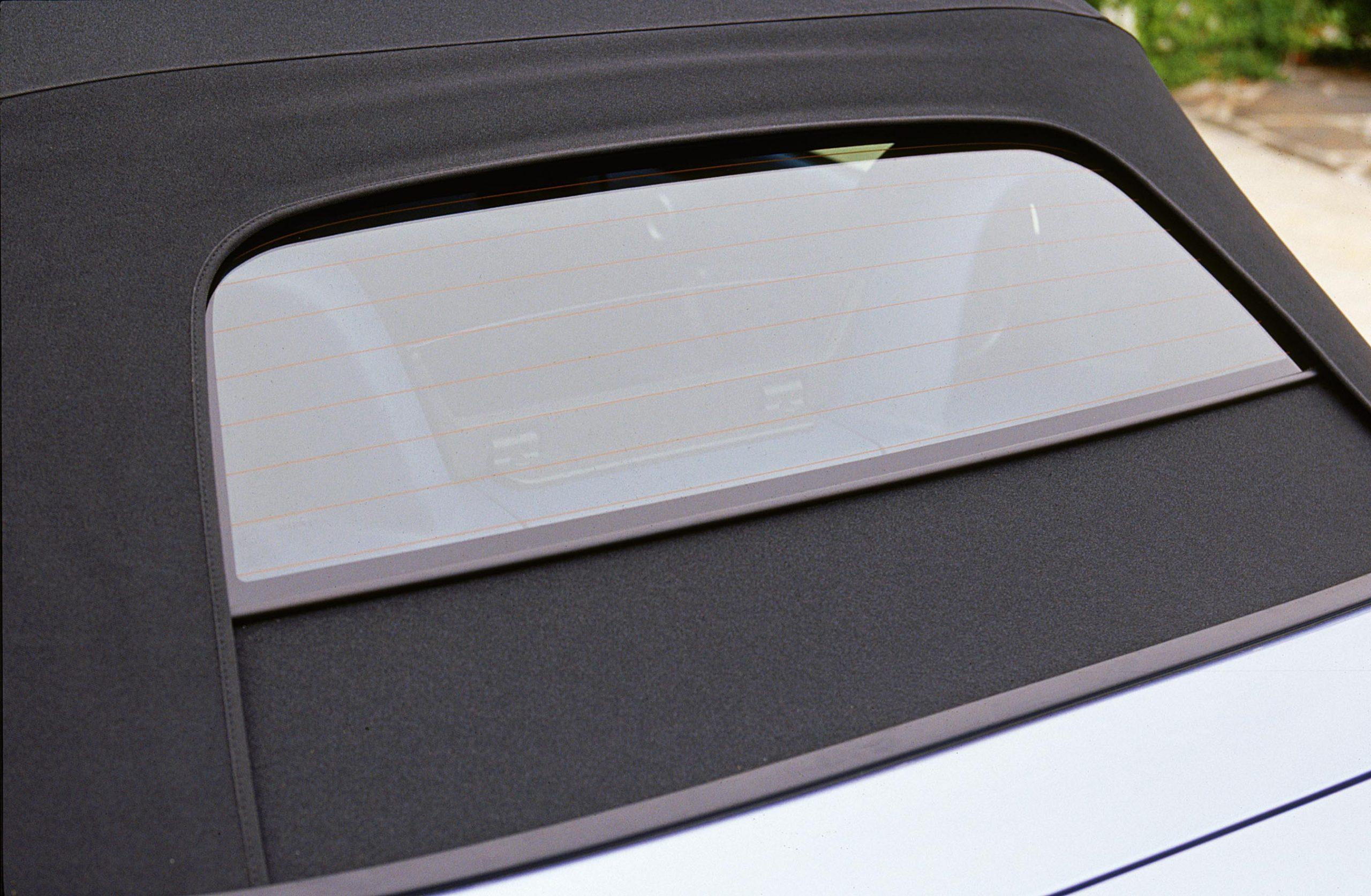 2002 Honda S2000 rear glass window