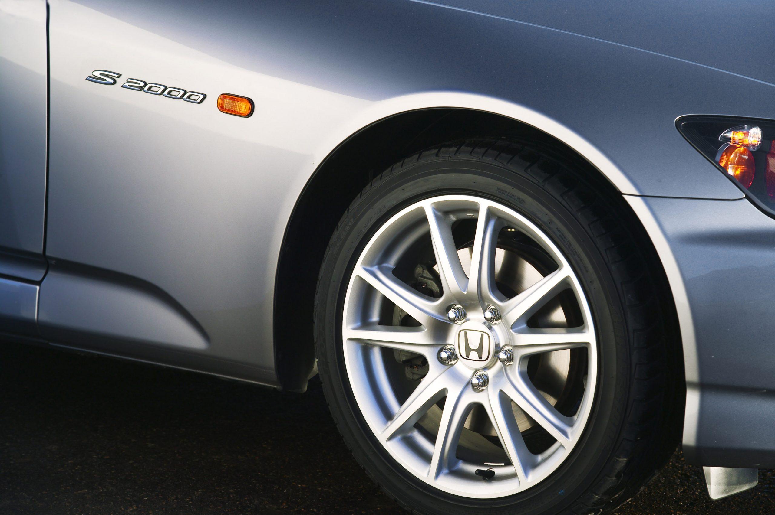 2004 Honda S2000 front wheel