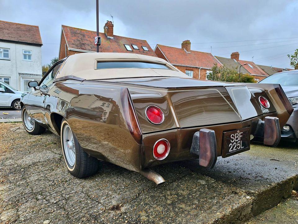 1973 Pontiac Gwynn Prix rear