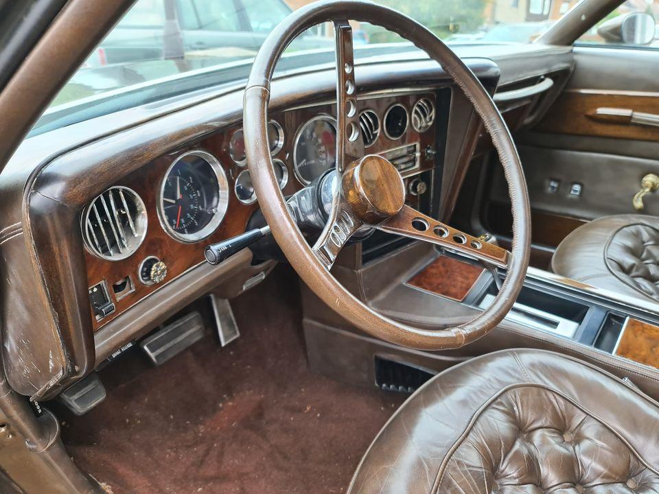1973 Pontiac Gwynn Prix interior