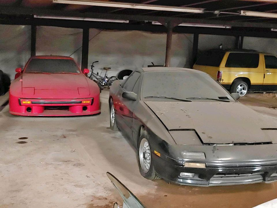 Facebook Marketplace Mazda Rotary barn finds RX-7 FC
